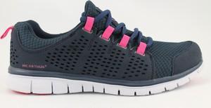Granatowe buty sportowe McArthur sznurowane