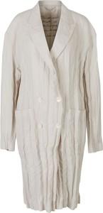 Płaszcz Acne w stylu casual z lnu