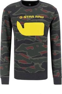 Bluza G-Star Raw w młodzieżowym stylu z nadrukiem