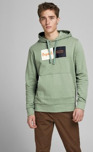 Zielona bluza WARESHOP z bawełny