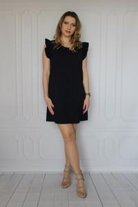 Sukienka arioso.pl mini z krótkim rękawem