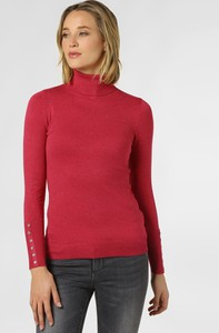 Czerwony sweter Marie Lund w stylu casual