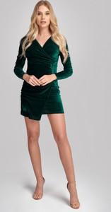 Sukienka Olessa z weluru