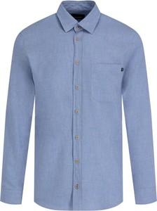 Niebieska koszula Joop! Jeans z długim rękawem