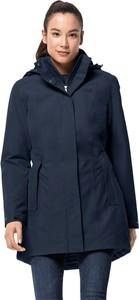 Płaszcz Jack Wolfskin z plaru w stylu casual