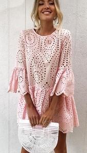 Różowa sukienka Elegrina