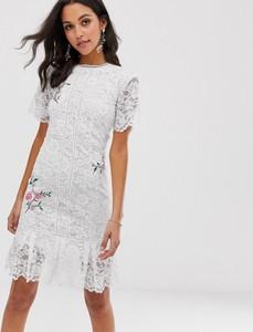 Sukienka Liquorish z okrągłym dekoltem