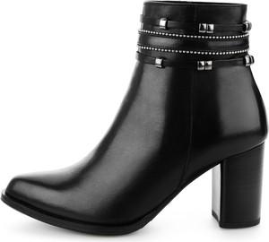 c1db1426441ce Czarne botki Prima Moda, kolekcja wiosna 2019