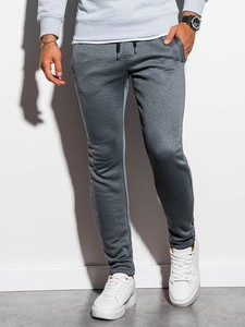 Spodnie sportowe Ombre z dresówki w stylu casual