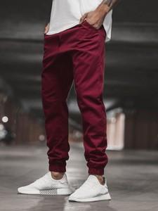 Czerwone spodnie Ozonee