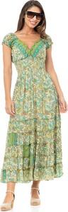 Zielona sukienka Peace & Love maxi