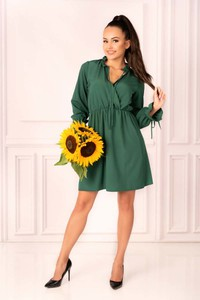 Zielona sukienka MERRIBEL mini