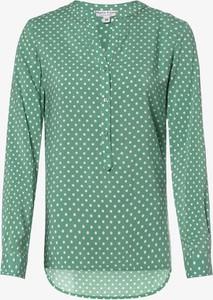 Zielona bluzka Marie Lund z długim rękawem