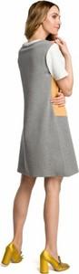 Sukienka MOE z krótkim rękawem mini