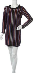 Sukienka Kookai prosta z długim rękawem