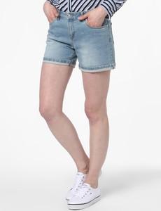 Niebieskie szorty Marie Lund z jeansu