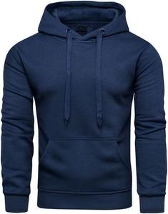 Niebieska bluza Recea z bawełny w młodzieżowym stylu
