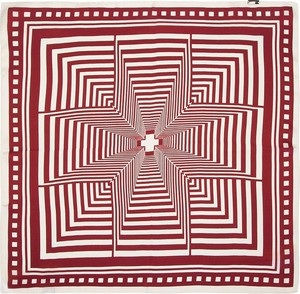 Czerwony szalik Wittchen