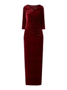 Czerwona sukienka Paradi prosta