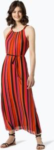 Sukienka comma, z okrągłym dekoltem maxi prosta