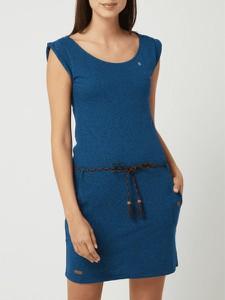 Sukienka Ragwear z okrągłym dekoltem w stylu casual