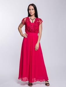 Różowa sukienka Semper