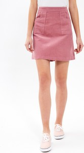 Spódnica Gate w stylu casual z bawełny mini