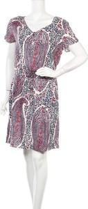 Sukienka Best Mountain mini z krótkim rękawem prosta