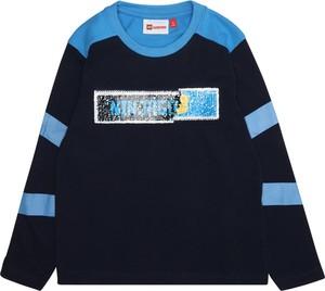 Granatowa koszulka dziecięca LEGO Wear