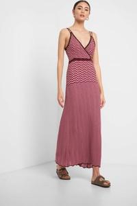 Sukienka ORSAY z dzianiny na ramiączkach maxi