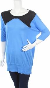 Niebieski sweter Rutme