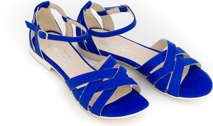Granatowe sandały Zapato