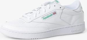 Reebok - Męskie tenisówki ze skóry — Club C 85, biały