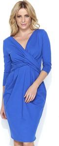 Sukienka Makadamia z bawełny z długim rękawem