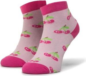 Różowe skarpetki Nelli Blu dla dziewczynek