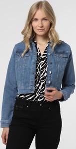 Niebieska kurtka NA-KD krótka z jeansu