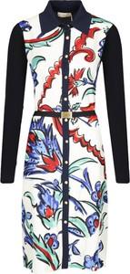 Sukienka Tory Burch z wełny w stylu casual midi
