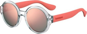 Czerwone okulary damskie Havaianas