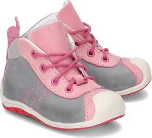 Buty dziecięce zimowe EMEL ze skóry