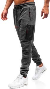Spodnie sportowe Denley w sportowym stylu z dresówki