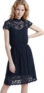 Sukienka Tom Tailor mini z okrągłym dekoltem
