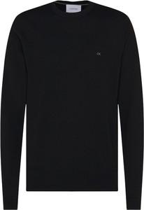 Czarny sweter Calvin Klein z wełny