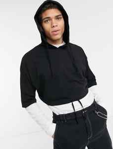 Czarna bluza Asos z dżerseju