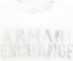 T-shirt Armani Jeans z nadrukiem z krótkim rękawem