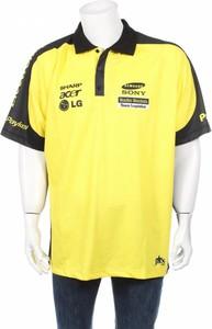 Żółta koszulka polo Jax z krótkim rękawem
