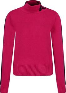 Różowy sweter Armani Jeans w stylu casual