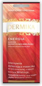 Dermika, Maseczki Piękności, Energia, maseczka energetyzująco-nawilżająca, 10 ml