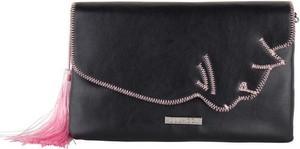a79210a50773a Prima moda czarna torebka ozdobiona cekinami tegoja