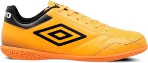 Żółte buty sportowe Umbro w sportowym stylu sznurowane