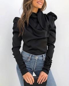 Bluzka Kendallme w stylu casual z okrągłym dekoltem